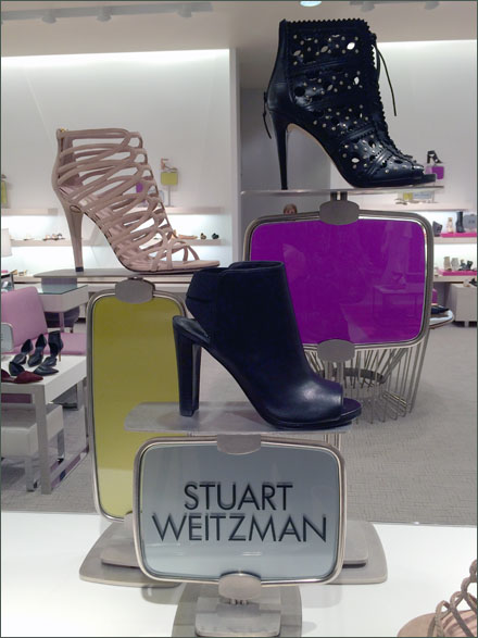 Stuart Weitzman Stained Glass Front