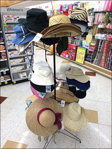 Summer Hat and Cap Tree Main