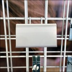 White All Wire Scanning Grid Hook Aux