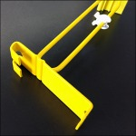 Yellow Flatback Scanning Grid Hook 1