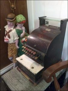 Antique Cash Register As Engagement Main