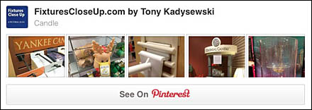 Candle FixturesCloseUp Pinterest Board