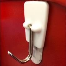 Command Strip J-Hook for Cashwrap CloseUp