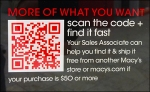 Customer Favorite Scan Code Closeup