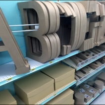 Declioned Alphabetic Shelf Fencing 1