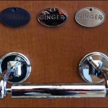 Ginger Metal Finish Medallion Samples Main