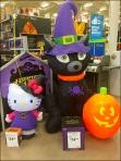 Halloween Haunted Hello Kitty Aux