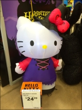Halloween Haunted Hello Kitty