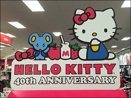 Hello Kitty 40th Anniversary Main