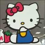 Hello Kitty CloseUp Aux