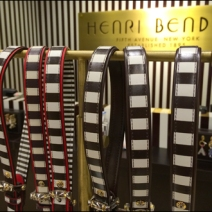 Henri Bendel Belt Single T-Stand CloseUp