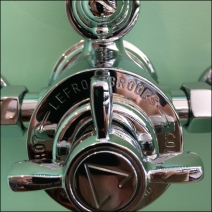 Lefroy-Brooks Steam Punk Mixing Valve Closeup