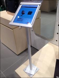 Moleskine In-Store iPad Pedestal