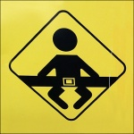 Buckle Your Child for Safety Icon