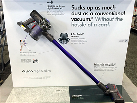 Dyson Digital Slim on Safety Loop Hook Main