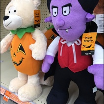 Halloween Plush Contrasts Aux