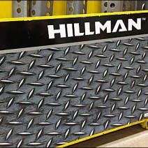 Hillman Faux Diamond Plate Display 3