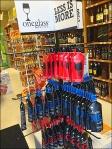One Glass Wine Pouch Merchandising Aux
