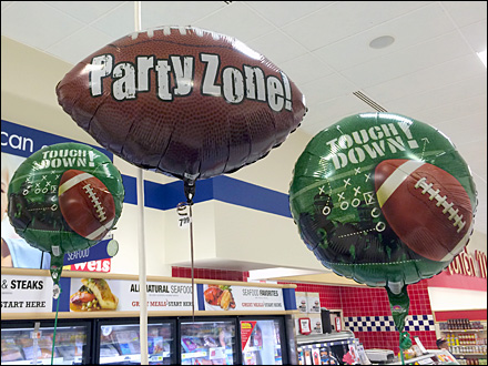Party Zone Touch Down Inflatable Overall