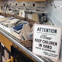 Please Keep Children In Hand Main