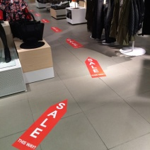 Sale Floor Graphic Breadcrumb Trail 2