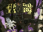 Silver Halloween Spiders Aux