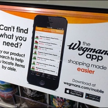 Wegman's Shopping App Grip Clip Main