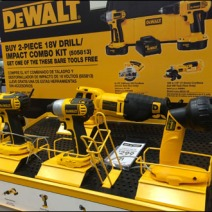 DeWalt C-Channel Tool Tray 1