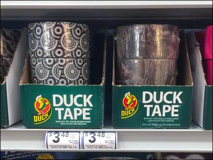Duck Tape Tight Shelf Display Main