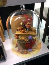 Godiva Thanksgiving Turkey Bell Jar