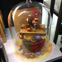 Godiva Thanksgiving Turkey Bell Jar