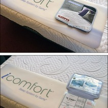 iComfort Flip Front Mattress Footer Main