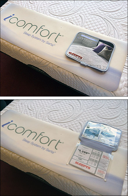 iComfort Flip Front Mattress Footer Main