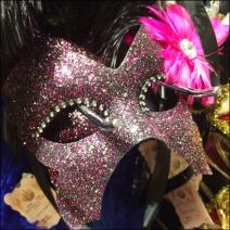 Masquerade Ball Masks Slatwall Hooked 6