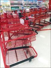Midnight Shopping Run Cart Circle Aux