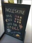 Moleskine Fall Collection Chalkboard