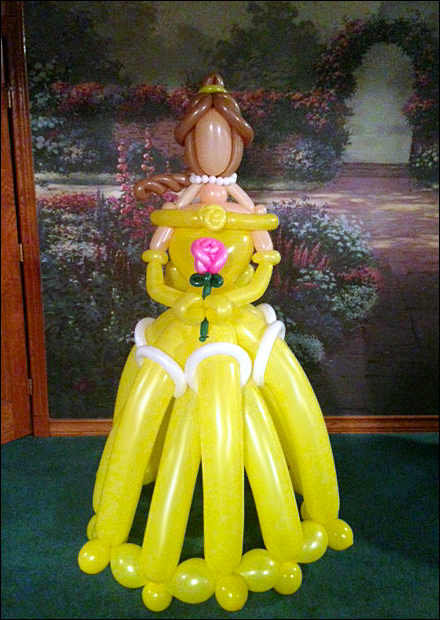 Princess Belle by JustinCredible