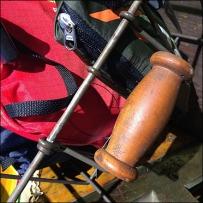 Ralph Laren Wood Handles Wire Baskets Main