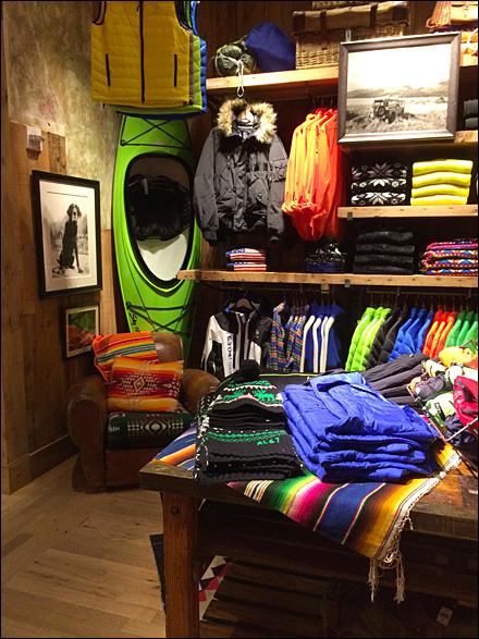 Ralph Lauren Kayak Visual Merchandising Main