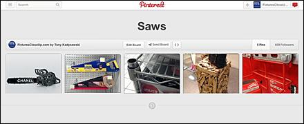 Saws FixturesCloseUp Pinterest Board