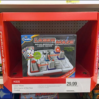 Shelf Edge Featured Game Propped Front
