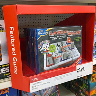 Shelf Edge Featured Game Propped Perspective