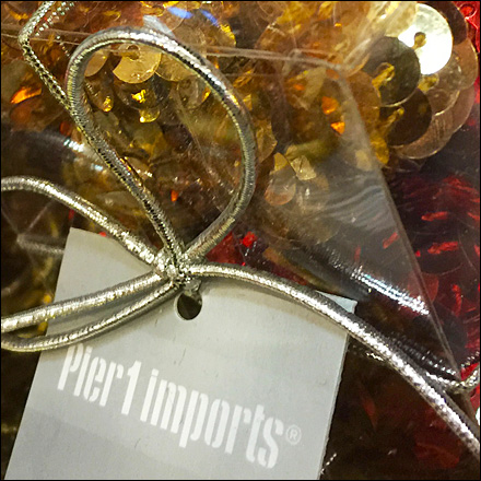 Christmas Crackers At Pier 1 Fixtures Close Up Retail Pop