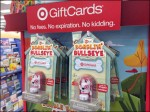 Target Bobble Head Gift Card Aux