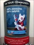 Target Bullseye Mascot Targets Community Aux