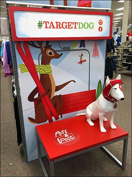 Target Dog Photo Opp Main