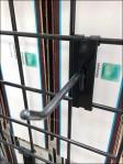 Tile Sample Cards by Grip Display Hook Detail