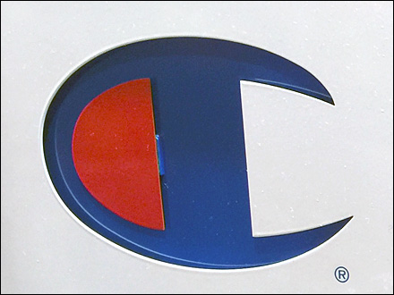 Champion Logo Deboss Detail