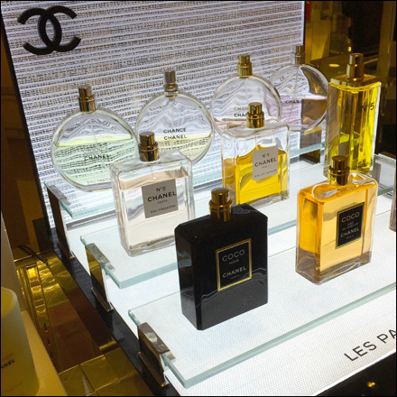 Chanel Bridged Glass Display Main