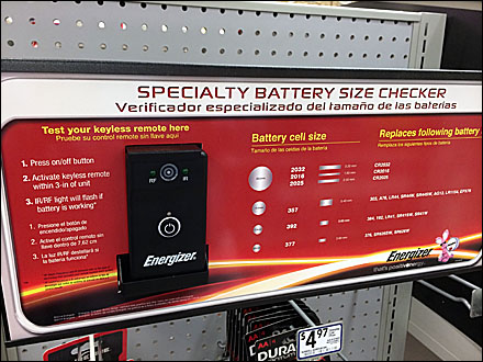 Energizer Battery Size Checker Main